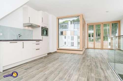 Wohnen beim Wald! Wunderschöne 3 Zimmer Maisonette mit Balkon und Terrasse Concierge