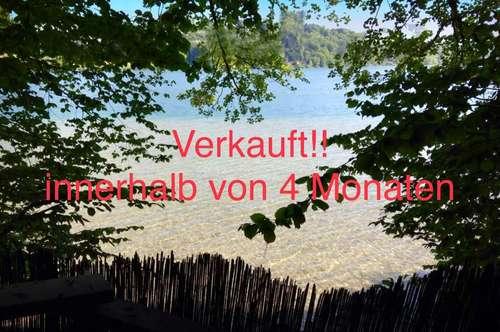 Verkauft!! Innerhalb von 4 Monaten - Landhausvilla in Elixhausen mit eigem Seezugang durch eigenen Badeplatz am Mattsee