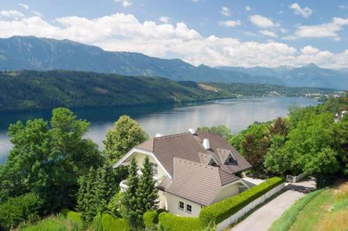 MILLSTATT - SEEBLICKVILLA in TOP - LAGE