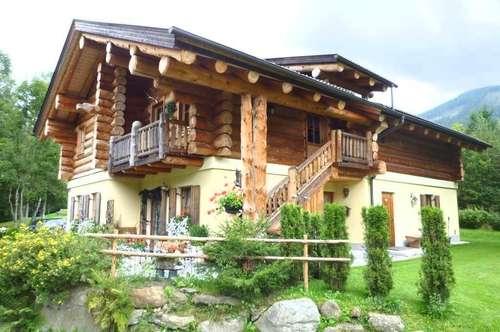 Unikat - 5-Appartement-Blockhaus an der Ski-Piste