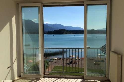 Wohnen am türkisblauen Faaker See mit Badestrand und eigener Badekabine