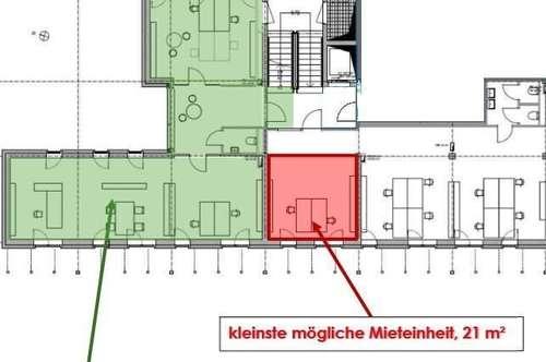 Büroräumlichkeiten-Erstbezug DIREKT bei MAGNA-Liebenau