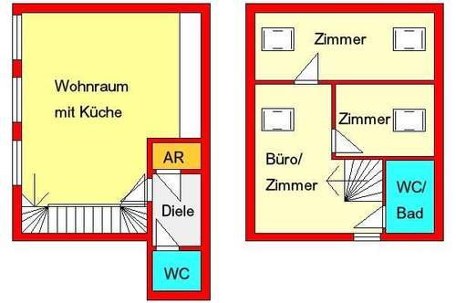 zentrale Maisonette-Wohnung bei Jakominiplatz - noch ca. 1 Jahr gefördert!