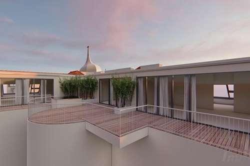 Exquisite 3 ZI-DG-Erstbezugs-Wohnung mit Terrasse im Herzen der Josefstadt