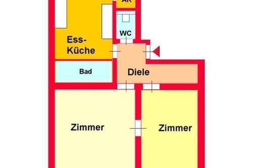 Schöne Altbauwohnung zentral bei Schillerplatz