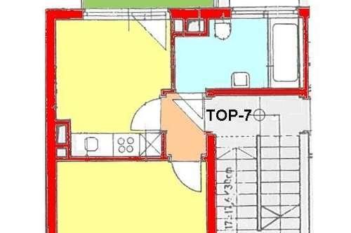 PROV-FREI *) Kleinwohnung mit Balkon in gutem Zustand direkt bei UNI !