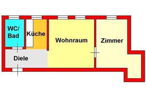 kürzlich saniertes 2-Zimmer-Dachstudio in St. Peter bei Schimautz