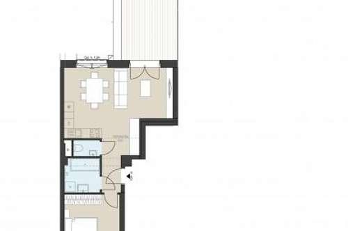 Terrassenwohnung als Anlage! T10