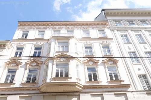 Neubaugasse: moderne Balkonwohnung im Altbau