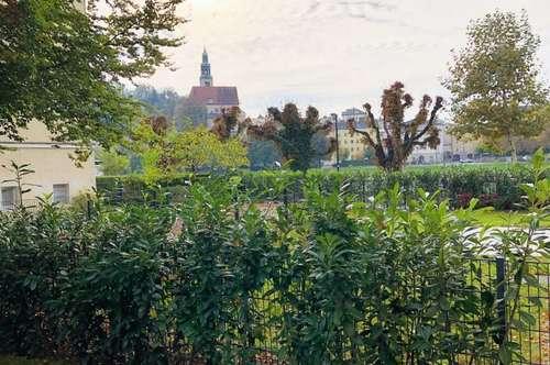Erstklassige 2 Zi. Gartenwohnung in der Stadt Salzburg