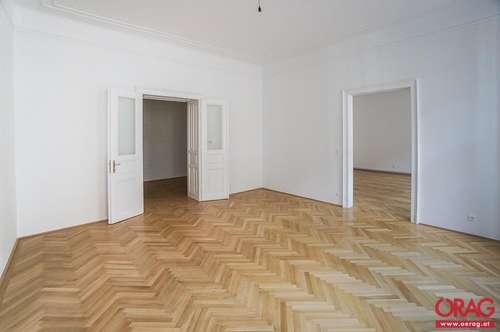 Großzügige 4-Zimmer neu renovierte Altbauwohnung nahe Parkring in 1010 Wien zu mieten