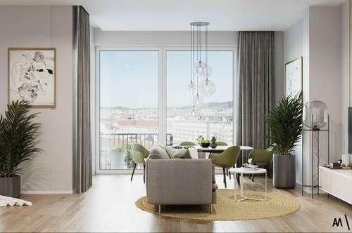 Einzigartige 2-Zimmer-Wohnung nahe Wiedner Hauptstraße in 1050 Wien zu mieten