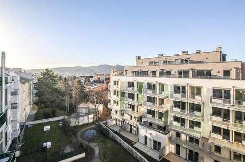 Großartige Atelier-Wohnung mit Garten im modernen Neubauprojekt in Jedlesee - 1210 Wien zu mieten