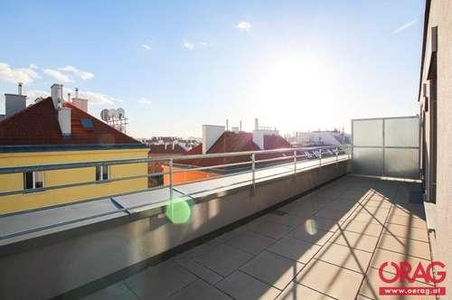 Dachterrassen-Niedrig-Energie-Wohnung im Neubauprojekt in Jedlesee - 1210 Wien zu mieten