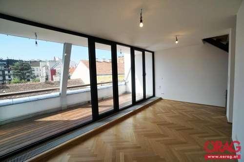 Stylischer Dachgeschoß-Ausbau in einem wunderschönen Gründerzeithaus – Kauf in 1180 Wien