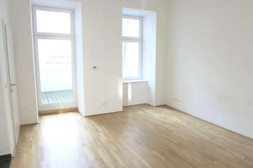 Hofseitige Vier-Zimmer-Erdgeschoßwohnung mit zwei Terrassen - Miete 1090 Wien