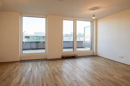 Großartige 2-Zimmer Wohnung mit Balkon im modernen Neubauprojekt in Jedlesee - 1210 Wien zu mieten