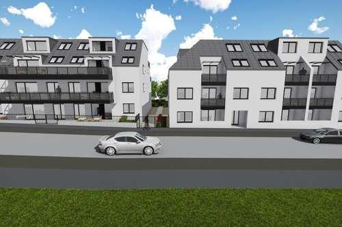 Mitten in Stammersdorf: Zwei Zimmer-Erstbezug-Wohnung mit Freifläche - zu mieten in 1210