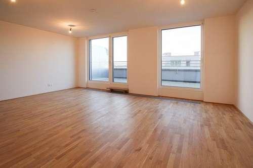 Beeindruckende 4-Zimmer-DG-Erstbezug-Wohnung im Neubauprojekt in Jedlesee in 1210 Wien zu mieten