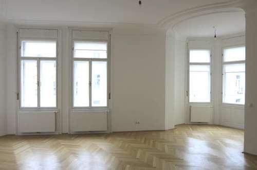 Prachtvolle 6-Zimmer-Altbauwohnung mit zwei Balkonen Nähe Palais Liechtenstein - Miete 1090 Wien