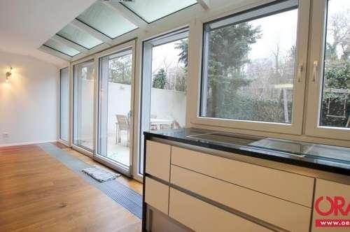 Architektur trifft Natur: Exklusive 3-Zimmer Garten-Wohnung Nahe Hohe Warte in 1190-Wien zu mieten