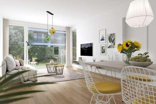 ESCHENGARTEN - 2 Zimmerwohnung mit Garten zu kaufen - 1230 Wien - provisionsfrei für die KäuferIn