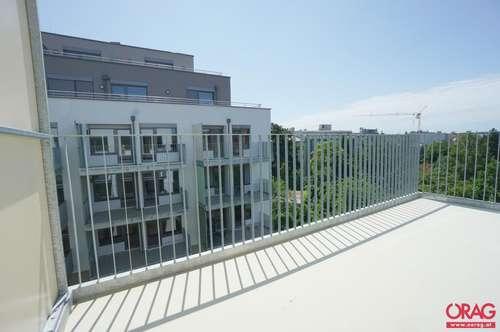 2-Zimmer-Erstbezug-Balkon-Wohnung im modernen Neubauprojekt in Jedlesee - 1210 Wien zu mieten