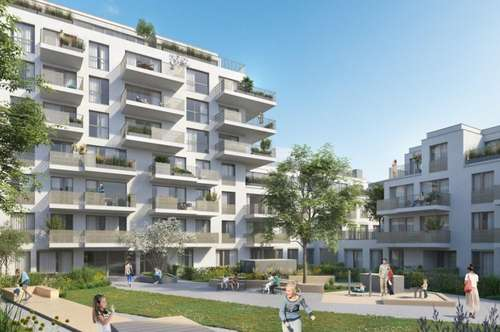 ESCHENGARTEN - Ein Zimmer Gartenwohnung provisionsfrei zu kaufen - 1230 Wien