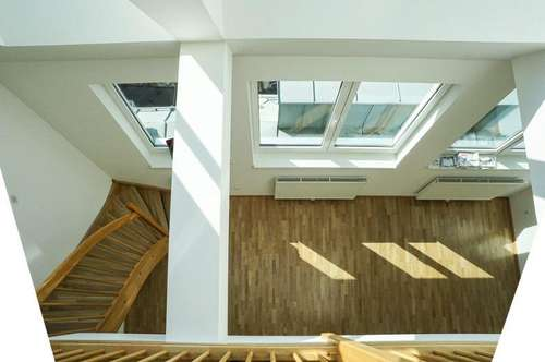Sonnige Dachgeschoss Maisonette -Wohnungen Nähe Spitalgasse - in 1090 Wien zu mieten
