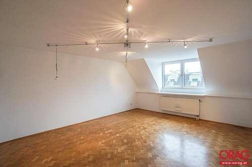Wunderschöne Zwei-Zimmer Dachgeschoßmaisonette in Prater-Cottage-Lage - zu mieten in 1020 Wien