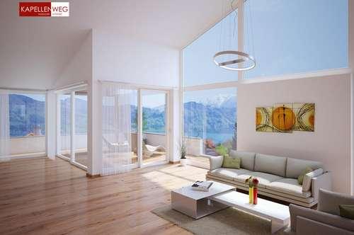 Provisionsfrei! Atterseeblick Pur – Ihr Neubau-Penthouse mit Liebe zum Detail