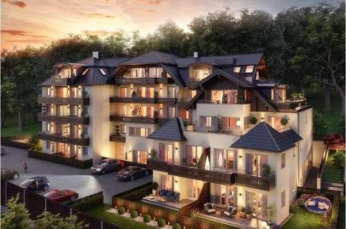 The Lakeview - Ideale 2 Zimmer Gartenwohnung