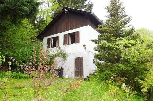 Für Handwerker!!! Grundstück mit Altbestand nähe Altmünster am Traunsee
