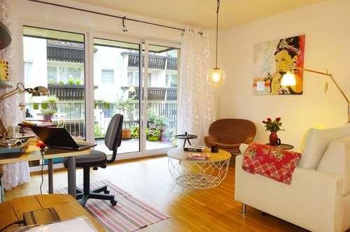 Wohnen mit Stil - 2 Zimmer Wohnung mit Sonnenterrasse!