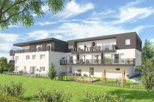 Zentrales Wohnen Ried 3-Zimmer Gartenwohnung
