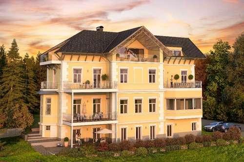 2-Zimmer-Wohnung in herrschaftlicher Villa
