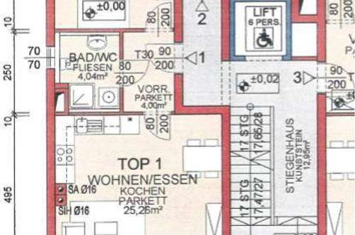 Toplage in Urfahr 50 m² Gartenwohnung mit Terrasse und Garagenplatz