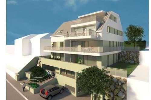 150 m² Dachgaleriewohnung mit traumhaft sonniger 35 m² Dachterrasse + TG + Autoabstellplatz im Freien