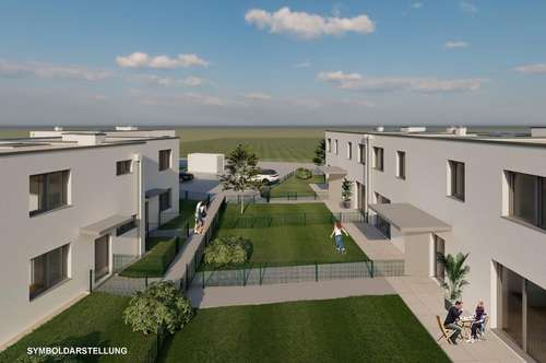 Neubau - Reihenhaus mit großem Garten! Provisionsfrei!