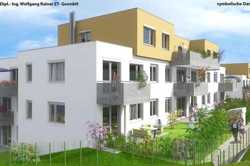 Erstbezugs-Familienwohnung mit Balkon und Kaufoption!