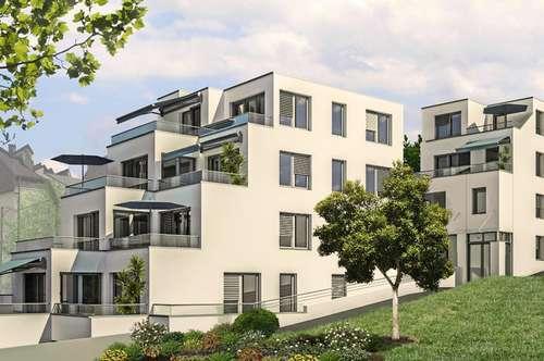 Baustart Wilhelminenberg 7 Zimmer großzügige Südterrassen traumhafte Ausblicke