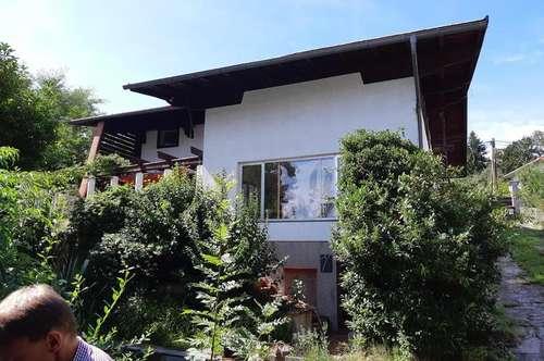 Einfamilienhaus idyllischer Garten Atelier-Werkstatt