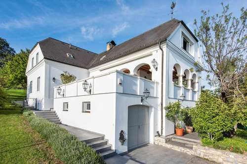 Villa mit fulminanter Weitsicht in Rechnitz