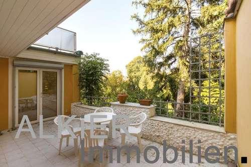 Maisonette mit Hauscharakter - Wintergarten, Terrassen & Gartenbereich