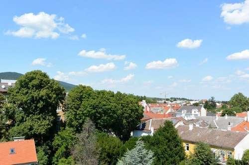 Dachterrassenwohnung mit 2 Terrassen mit Blick über Baden im Stadtzentrum!
