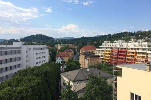 Schöne 3-Zimmerwohnung mit Loggia/ WG geeignet - in Geidorf