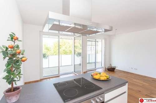 *UNBEFRISTET* 70 m² Mietwohnung Schwechat - 3 Zimmer mit 18 m² großer Loggia im Erstbezug am Alanovaplatz 2