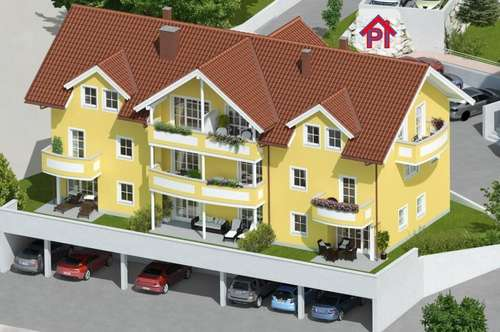 Unterach: 2 Zimmer Wohnung - Provisionsfrei - TOP 4