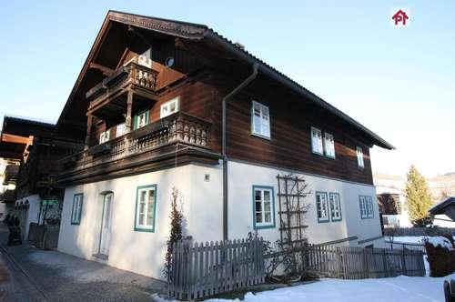 Goldegg: idyllische 3 Zimmer Wohnung mit Kellerabteil und PKW Stellplatz