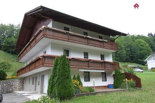 Weyregg: 3 Zimmer Wohnung im Grünen - absolute Ruhelage.